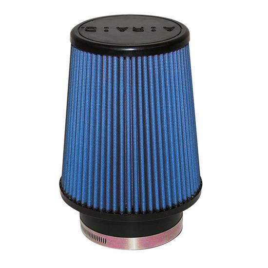Airaid 703-456 SynthaFlow Air Filter, Blue, 7in Tall, Round Tapered