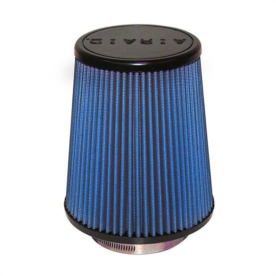 Airaid 703-457 SynthaFlow Air Filter, Blue, 7in Tall, Round Tapered