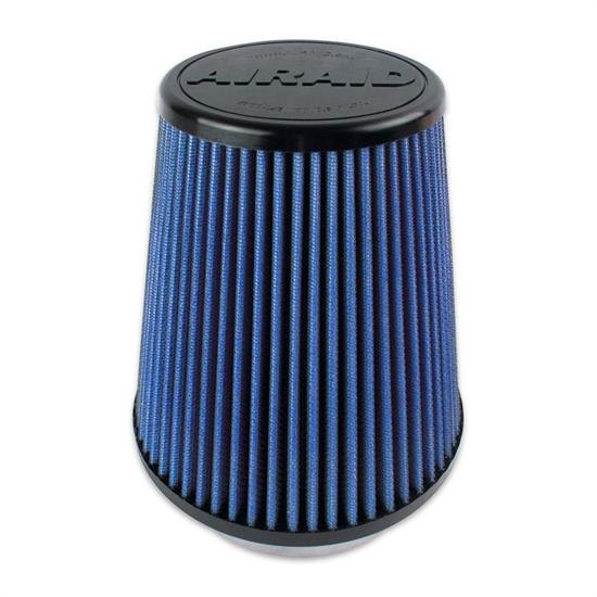 Airaid 703-458 Air Filter, Blue, 7in Tall, Tapered Conical