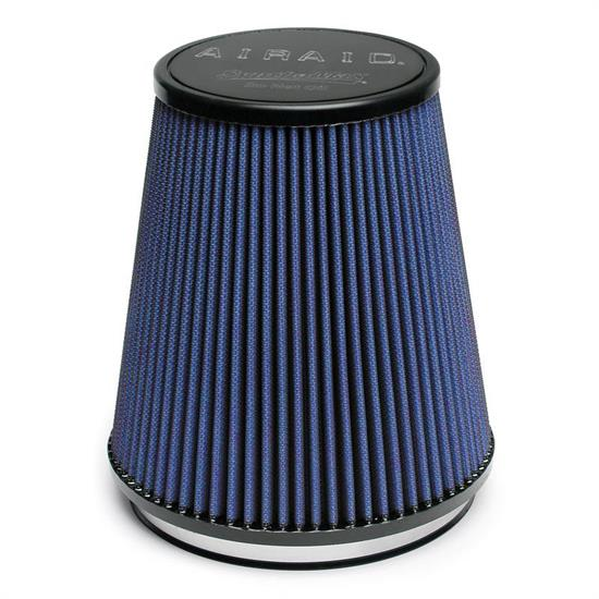 Airaid 703-462 SynthaFlow Air Filter, Blue, 7in Tall, Tapered Conical