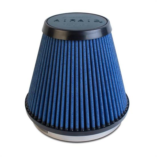 Airaid 703-466 SynthaMax Air Filter, Blue, 6in Tall, Tapered Conical