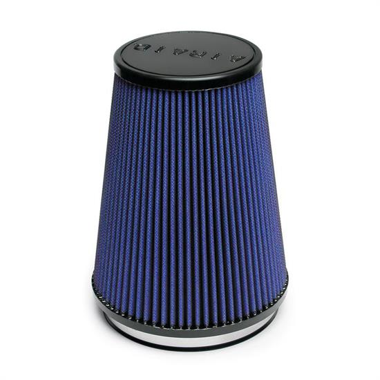 Airaid 703-469 Air Filter, Blue, 6in Tall, Round Tapered