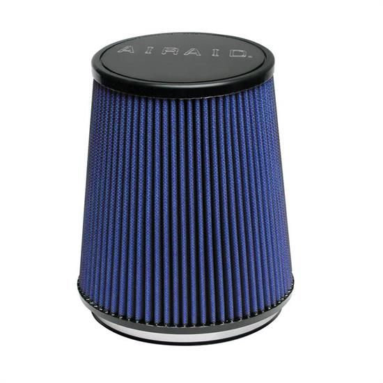 Airaid 703-474 Air Filter, Blue, 6.5in Tall, Tapered Conical