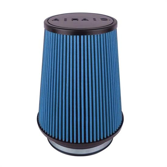 Airaid 703-491 SynthaFlow Air Filter, Blue, 7in Tall, Round Tapered
