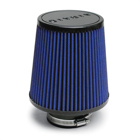 Airaid 703-493 Air Filter, Blue, 6in Tall, Tapered Conical