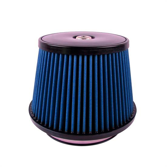 Airaid 703-497 SynthaFlow Air Filter, Blue, 6.5in Tall, Round Tapered
