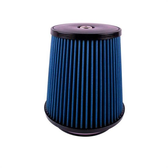 Airaid 703-498 Air Filter, Blue, 9.25in Tall, Tapered Conical