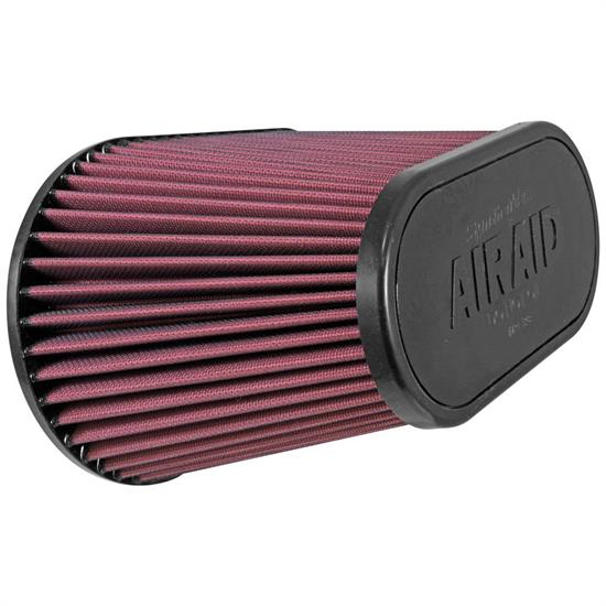 Airaid 720-128 SynthaFlow Air Filter, Red, 7.25in Tall, Oval Tapered