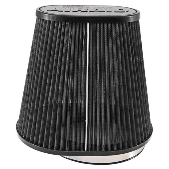 Airaid 720-242RD Race Day Air Filter, Gray, 8in Tall, Oval Tapered