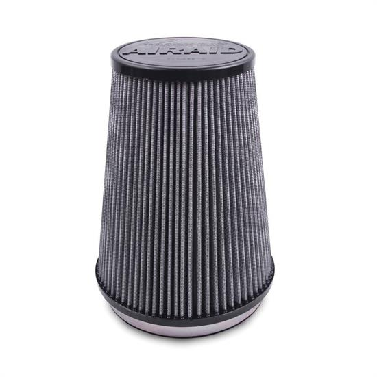 Airaid 720-243TD Track Day Racing Air Filter, Gray, 8in, Oval Taper