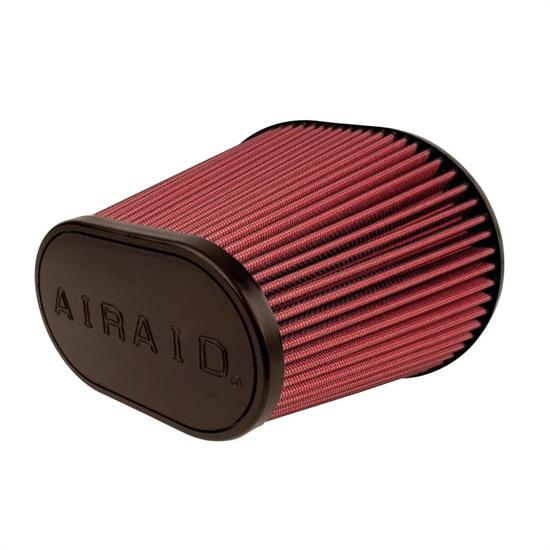 Airaid 720-479 SynthaFlow Air Filter, Red, 6.875in Tall, Oval Tapered
