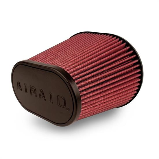 Airaid 721-243 Air Filter, Red, 8in Tall, Oval Tapered
