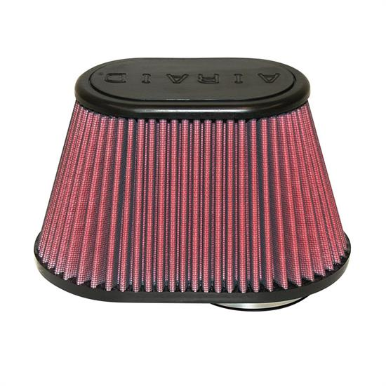 Airaid 721-432 Air Filter, Red, 5in Tall, Oval Tapered