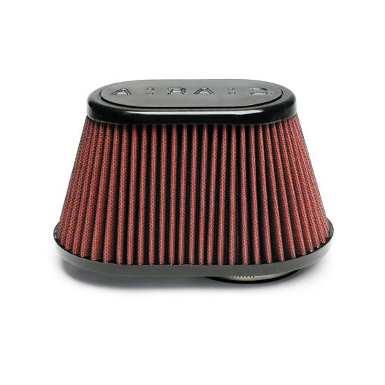 Airaid 721-448 Air Filter, Red, 4.5in Tall, Oval Tapered