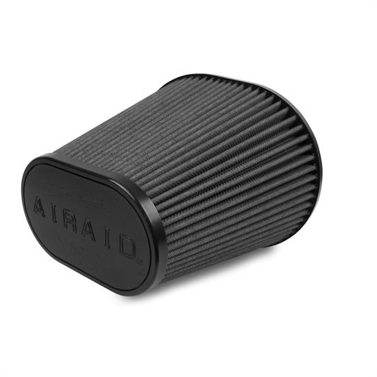 Airaid 722-243 SynthaMax Air Filter, Black, 8in Tall, Oval Tapered