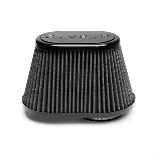Airaid 722-431 SynthaMax Air Filter, Black, 5in Tall, Oval Tapered