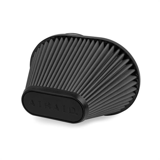 Airaid 722-473 SynthaMax Air Filter, Black, 6.5in Tall, Oval Tapered