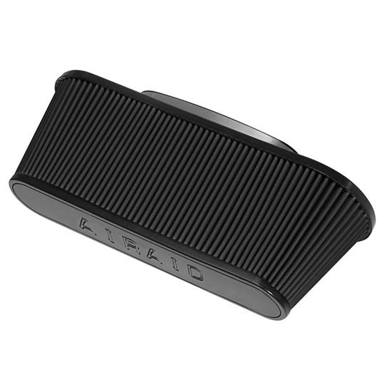 Airaid 722-475 SynthaMax Air Filter, Black, 6in Tall, Oval Tapered