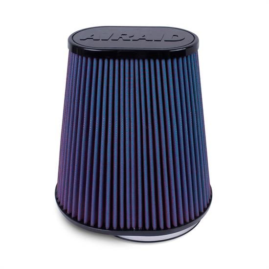Airaid 723-127 SynthaMax Air Filter, Blue, 9.5in Tall, Oval Tapered