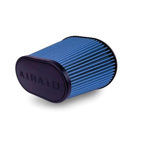 Airaid 723-242 Air Filter, Blue, 8in Tall, Oval Tapered
