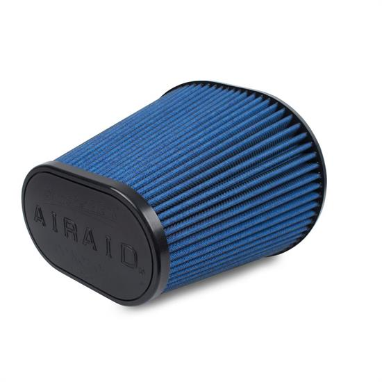 Airaid 723-243 SynthaMax Air Filter, Blue, 8in Tall, Oval Tapered