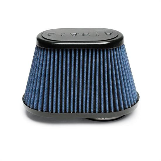 Airaid 723-432 Air Filter, Blue, 5in Tall, Oval Tapered