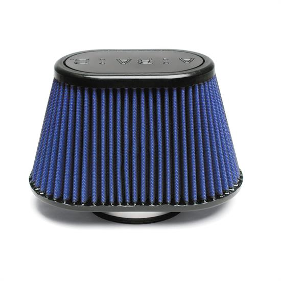 Airaid 723-440 Air Filter, Blue, 5in Tall, Oval Tapered