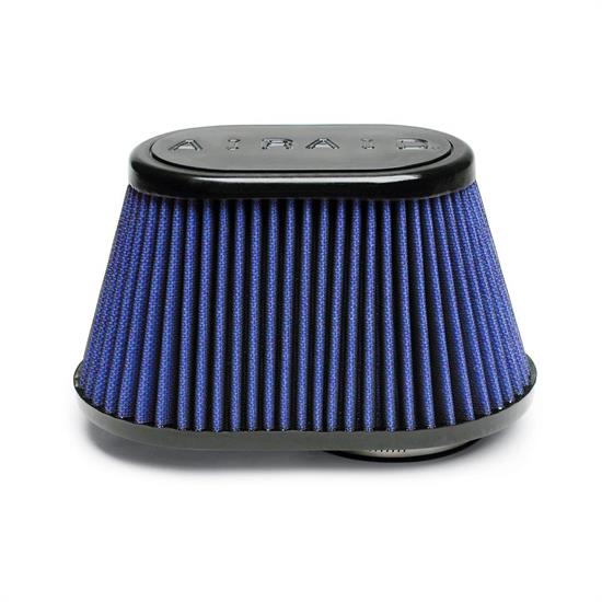 Airaid 723-448 Air Filter, Blue, 4.5in Tall, Oval Tapered