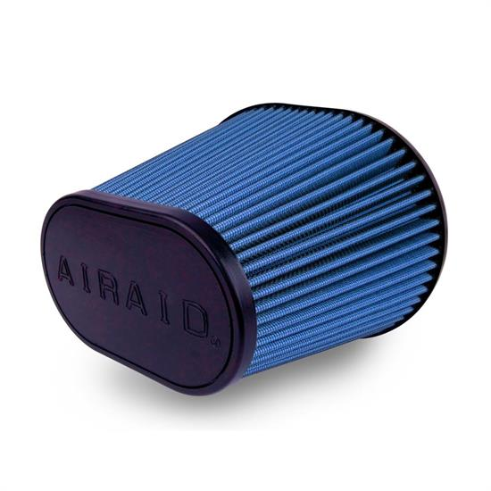 Airaid 723-472 Air Filter, Blue, 9in Tall, Oval Tapered