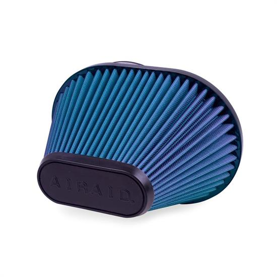 Airaid 723-473 Air Filter, Blue, 6.5in Tall, Oval Tapered