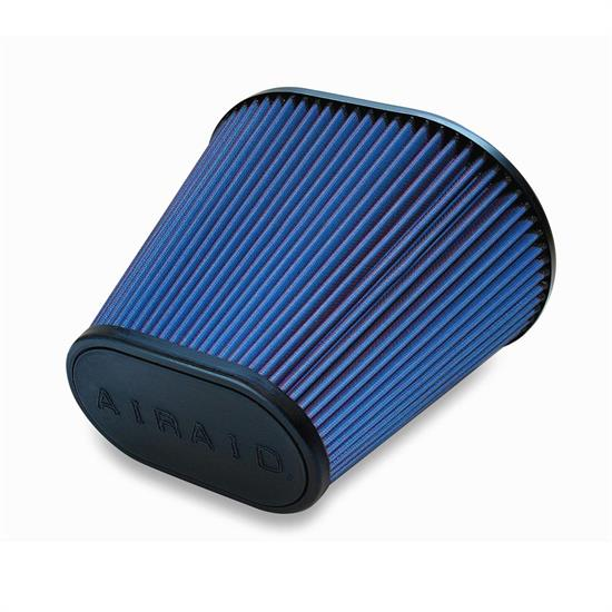 Airaid 723-476 Air Filter, Blue, 9in Tall, Oval Tapered