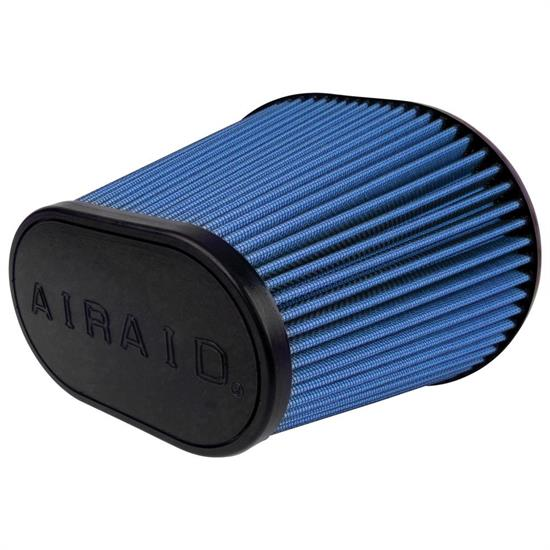 Airaid 723-479 Air Filter, Blue, 7in Tall, Oval Tapered