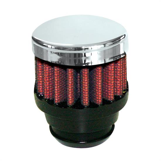 Airaid 775-480 Crankcase Breather Filter, 1.5 in. Tall, 2 in. OD