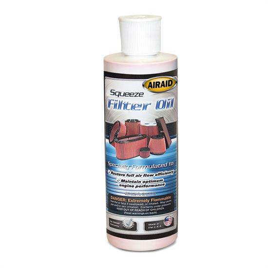 Airaid 790-555 Air Filter Oil, 8 oz. Squeeze Bottle