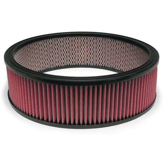 Airaid 800-375 SynthaFlow Air Filter, Red, 4in Tall, Round Straight