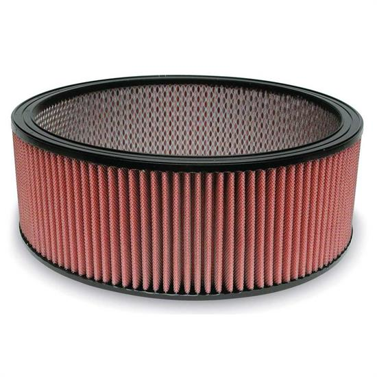 Airaid 801-306 SynthaMax Air Filter, Red, 5in Tall, Round Straight