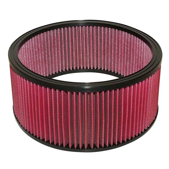 Airaid 801-379 SynthaMax Air Filter, Red, 6in Tall, Round Straight