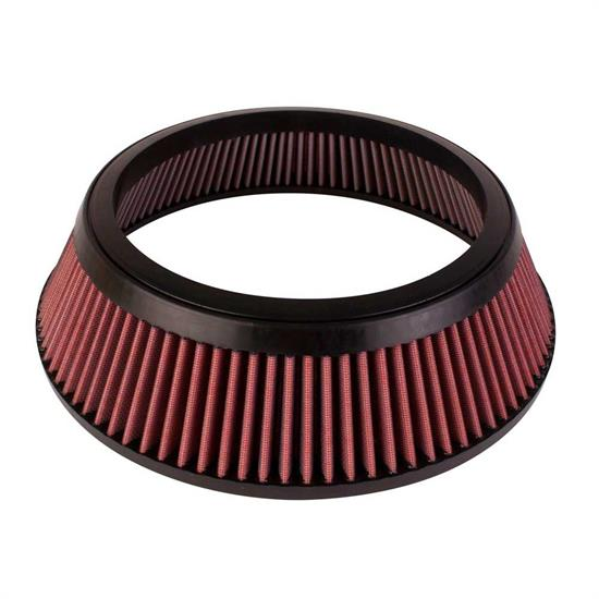 Airaid 801-452 SynthaMax Air Filter, Red, 3in Tall, Round Tapered