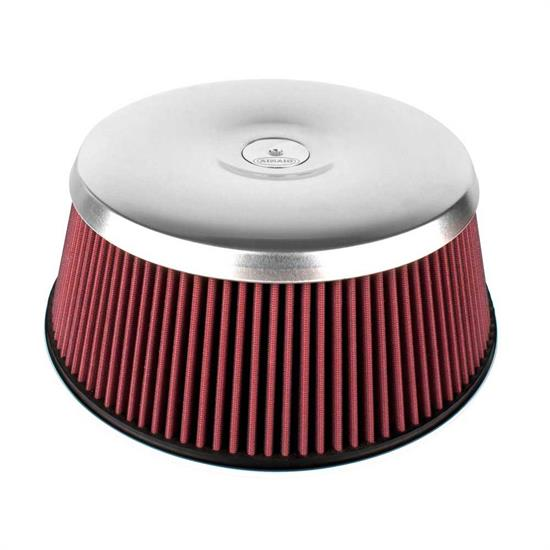 Airaid 801-461 Air Filter Assembly, 5.219in Tall, Red, Round Straight