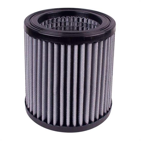 Airaid 884-102 Helmet Air Filter, Gray, 4.5 Tall, Round Straight