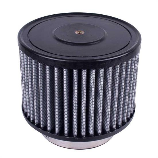 Airaid 884-104 Helmet Air System Filter, Gray, 3 inch, Round Straight