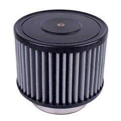 Airaid 884-104 Helmet Air System Filter, Gray, 3 inch, Round Straight