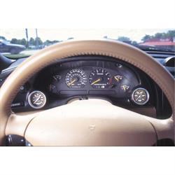 Auto Meter 10003 2-1/16 Inch Cluster Bezel, 1994-00 Mustang