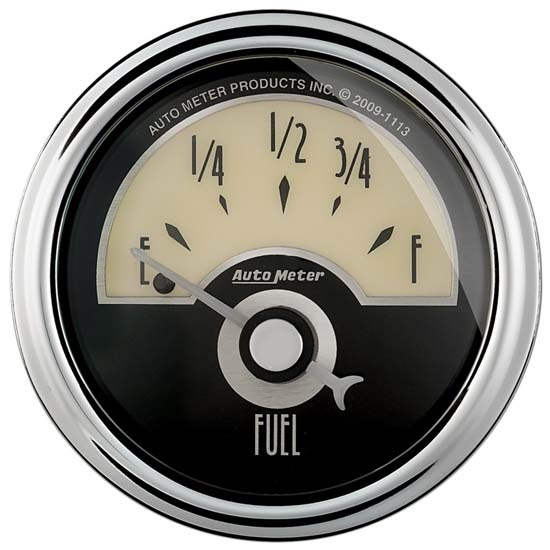 Auto Meter 1104 Cruiser AD Air-Core Fuel Level Gauge, 2-1/16 Inch