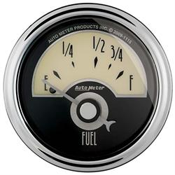 Auto Meter 1105 Cruiser AD Air-Core Fuel Level Gauge, 2-1/16 Inch