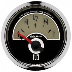 Auto Meter 1117 Cruiser Air-Core Fuel Level Gauge, 2-1/16 Inch