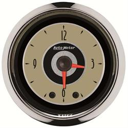 Auto Meter 1185 Cruiser Digital Stepper Motor Clock Gauge, 2-1/16 Inch