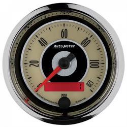 Auto Meter 1186 Cruiser Air-Core Speedometer Gauge, 3-3/8 Inch