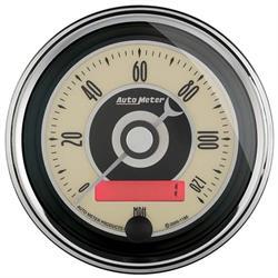 Auto Meter 1187 Cruiser AD Air-Core Speedometer Gauge, 3-3/8 Inch
