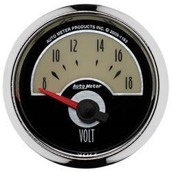 Auto Meter 1193 Cruiser Air-Core Voltmeter Gauge, 2-1/16 Inch